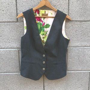 NWOT Ted Baker London Floral Vest